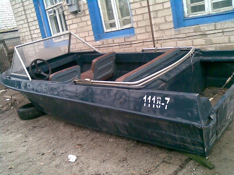 сварная лодка крым