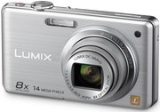 Panasonic LUMIX  DMC-FS30 14.1 MP Digital Camera - Silver