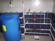 Водопровод, водомеры, отопление, канализация