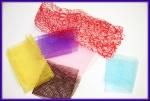 Тканевая сетка  для дизайна ногтей