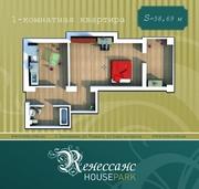 Продам квартиру 1к в «Ренессанс» House Park