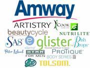 AMWAY,  LOC,  DISH DROPS,   NUTRILITE,  SA8,  ZOOM,  GLISTER,  BODY SERIES,