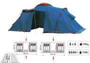 Палатка CASTLE 4 (SOL)