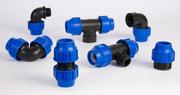 Трубы ПЭ(80, 100) и фитинги для наружного водоснабжения Запорожье