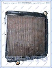 Радиатор водяной 5320-130 1010 (3-х рядный) КамАЗ - 5320