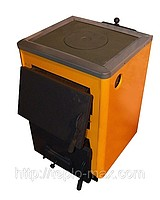 Котёл для твёрдого топлива КОТВ-14П с варочной панелью