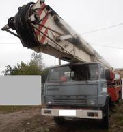 Продаем автогидроподъемник коленчатый АКП-30 ПМ-509А,  1991 г.в.