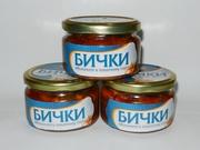 Бычки обжаренные в томате