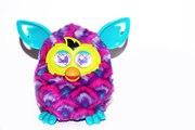 Furby Фёрби Фиолетовые волны оригинал интерактивный питомец дешево