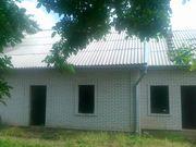 Дом без отделки на участке 6 соток,  Бородинский р-н