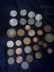 Продам монеты СССР, а также шилинги и драхмн.