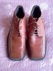 Ботинки мужские кожаные утепленные,  42