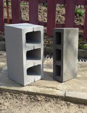 Евроблок цементный сухопресованный