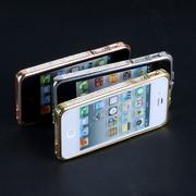 металлический бампер со стразами камнями iPhone 4 4s Swarovski
