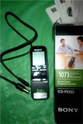 Продаю НОВЫЙ диктофон Sony ICD-PX333