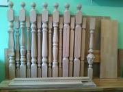 Балясины,  опорные стобы для лестницы.