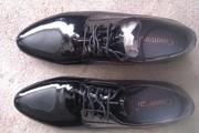 Туфли мужские лаковые новые