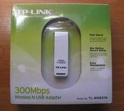 Wi-FI адаптер USB TP-Link TL-WN821N (300mbs)