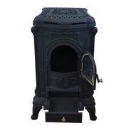 Камин буржуйка печь чугунная Black 8 кВт