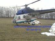 Послуги сільгоспавіації. Вертоліт-Літак.