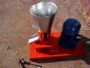 Гранулятор пеллет бытовой с плоской матрицей 150мм 4, 0квт 380в до 100к