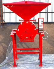 Зернодробилка дробилка ДКУ на 7.5 кВт до 1000 кг.час Кормоизмельчитель, Кормосме
