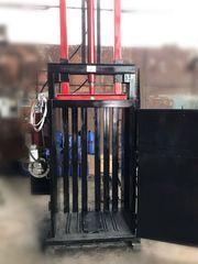 Пресс для вторсырья Казак на 10 тонн 4 кВт. Пресс для макулатуры