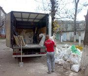 Вывоз строймусора,  старых рам окон и дверей с погрузкой в Запорожье