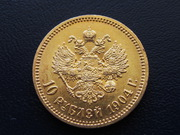 Монеты Николая 2 золото дорого